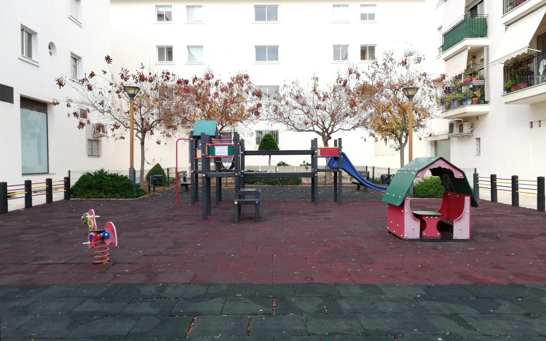 Infraestructures millora set parcs infantils d'Altea