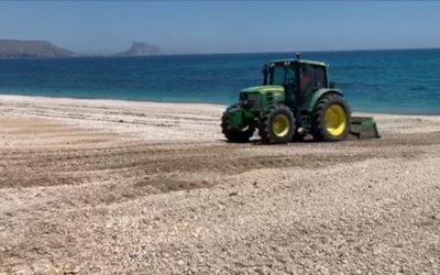 La Pública trabaja para que las Playas de Altea retomen en breve su imagen