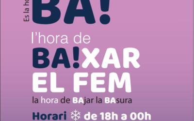 """""""És l'hora BA!"""", el lema de la nova campanya de La Pública"""